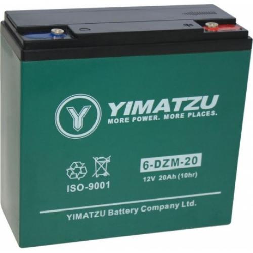 Batterie 6-dzm-20